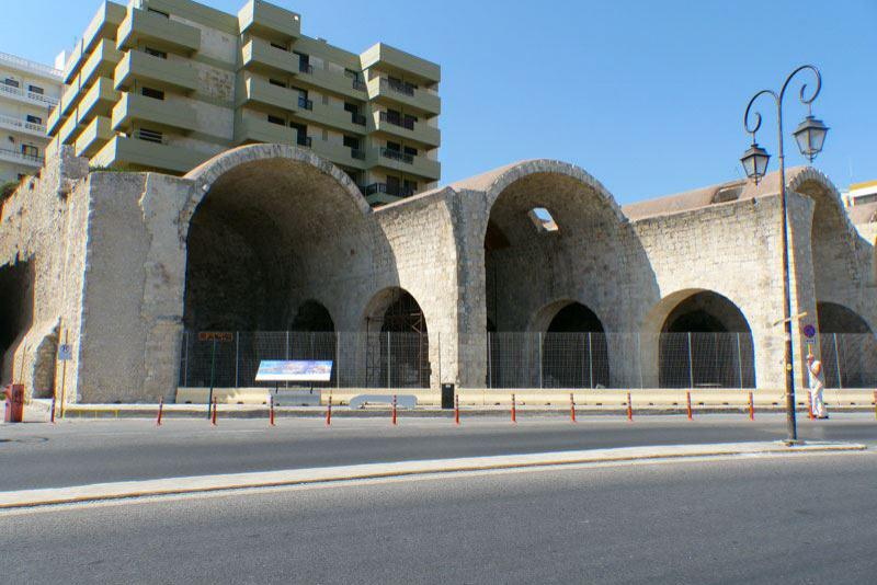 Arsenal der Vitouris Bastion in Heraklion